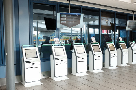 How much to airport forex kiosks charge
