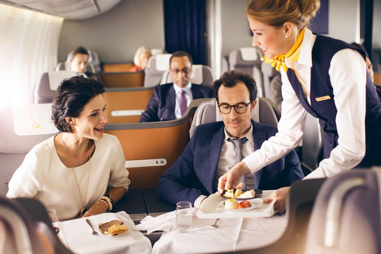 Lufthansa Introduces Restaurant Service To Business
