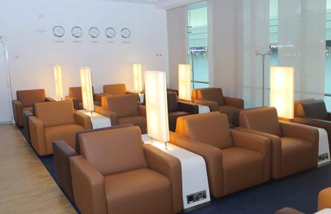 Lufthansa Dubai International Concourse D lounges