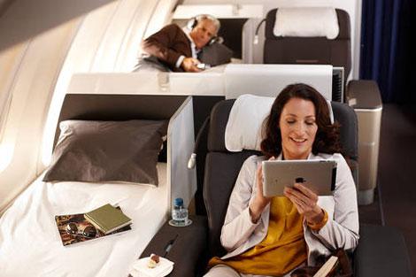 Lufthansa\\\\\\\\'s new first class cabin