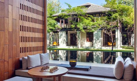 The Anantara Chiang Mai Resort & Spa pool