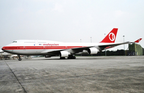 Malaysia Airlines B747-400