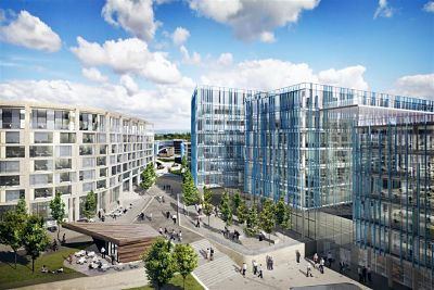 Go ahead granted for Manchester Airport business district