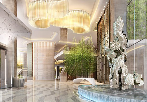 JW Marriott Hotel Shenzhen Bao\\\\\\'an lobby