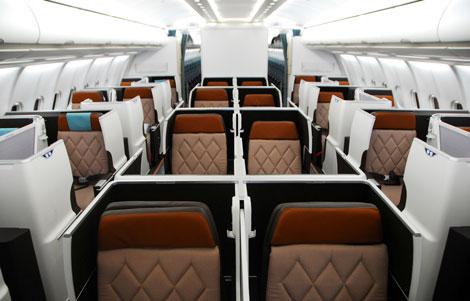 Oman Air A330-300 business