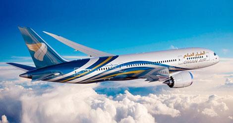 Oman Air B787 Dreamliner