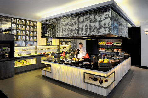Public, all-day dining outlet of Avani Atrium Bangkok