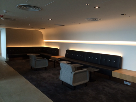 Qantas HKIA lounge