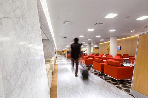 Qantas First Lounge at LAX