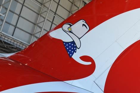Qantas Texas livery