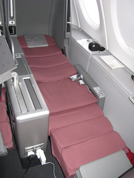 Picture Board Qantas A380 Business Traveller