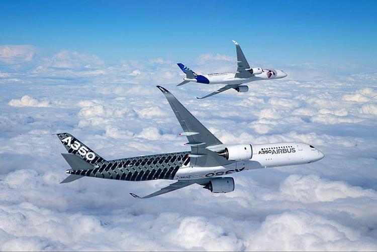Qatar Airways A350 Aircraft 4