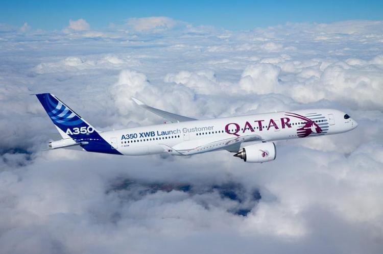 Qatar Airways A350 Aircraft