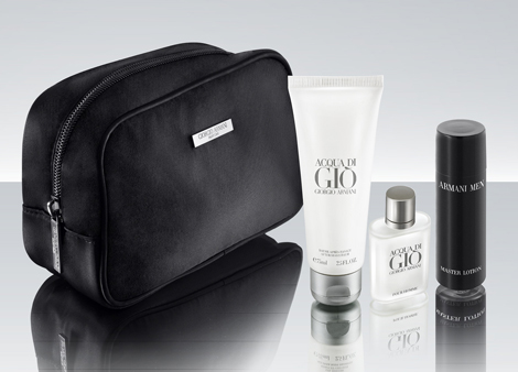 Male first class amenity kit