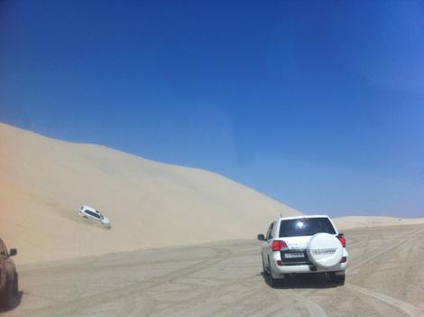 Doha desert Reggie Ho