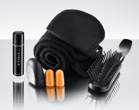 Female first class Rituals amenity kit