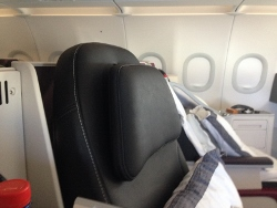 Qatar Airways head rest