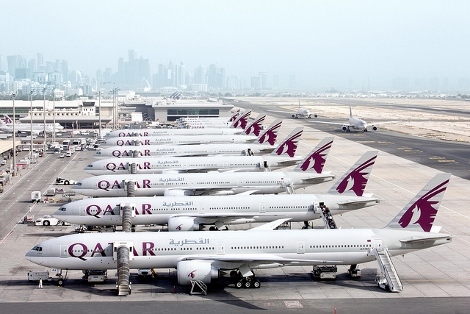 Qatar Airways B777-300s