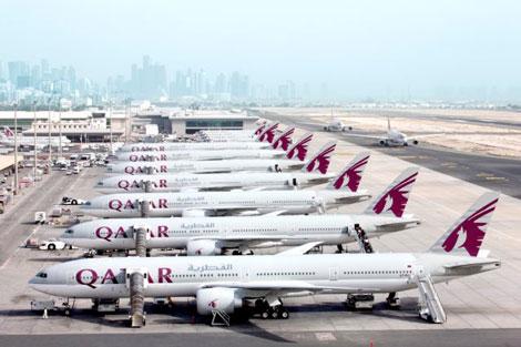 Qatar Airways B777 fleet