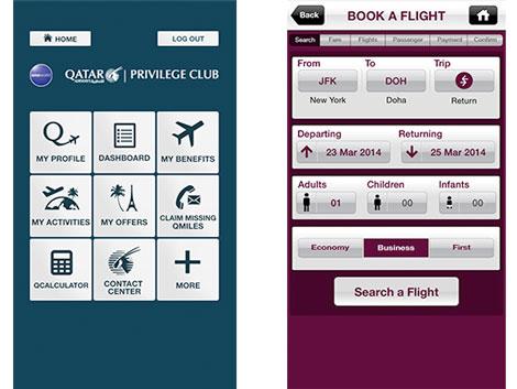 Qatar Privilege Club app
