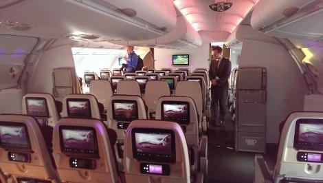 Plan Cabine A380 800 Qatar Airways