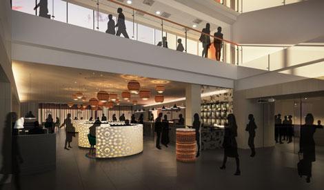 Radisson Blu Manchester Hotel new lobby