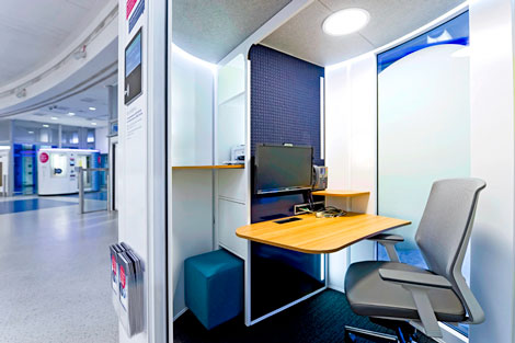 Regus workpod
