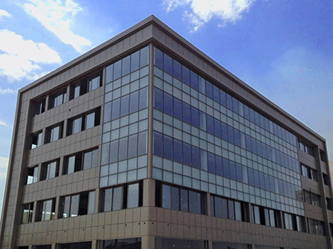 Exterior of the building housing Regus\\' new workspace in Erbil