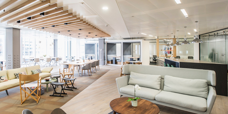 Regus lounge in London\\\\\\'s The News Building