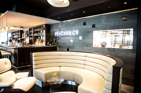 Fenchurch bar seating