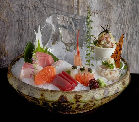 Sashimi selection