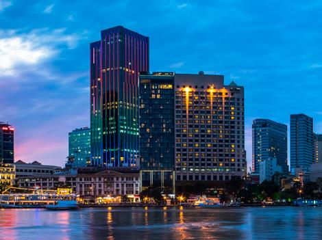 The Reverie Saigon exterior