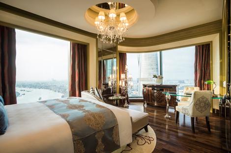 The Reverie Saigon Grand Deluxe King Room