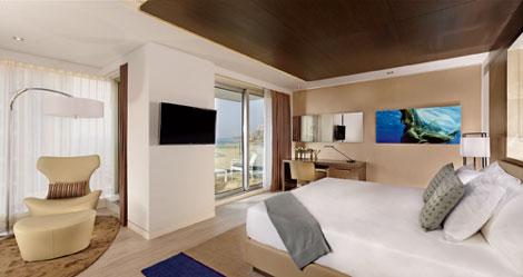 Ritz-Carlton Herzliya deluxe room