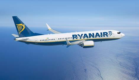 Ryanair B737 Max 200