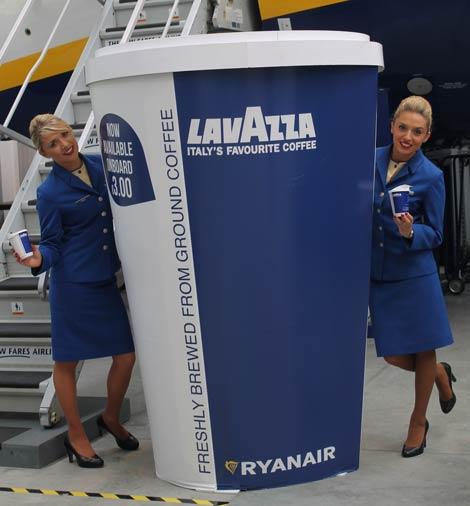 Ryanair Lavazza