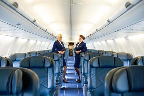 Ryanair B737-700 corporate jet