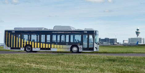 Schiphol electric bus
