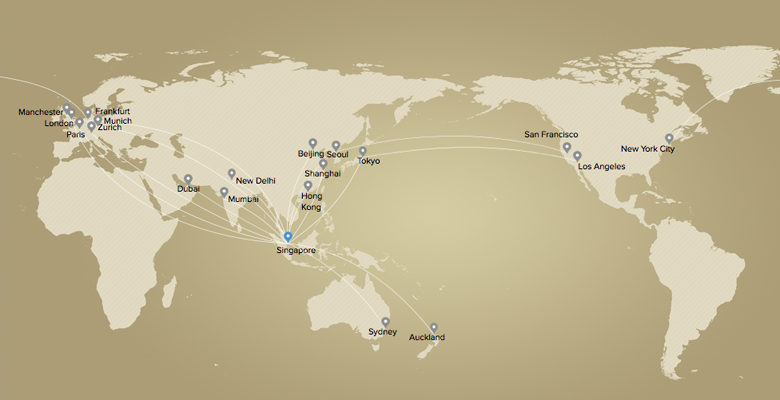 Amazing Singapore Air Route Map 228 Images - Map Informations ...