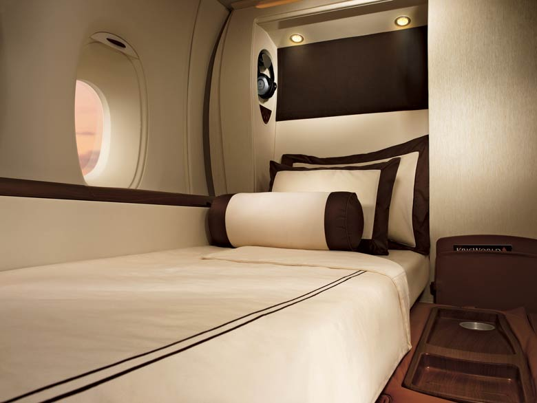 SIA A380 first class suite