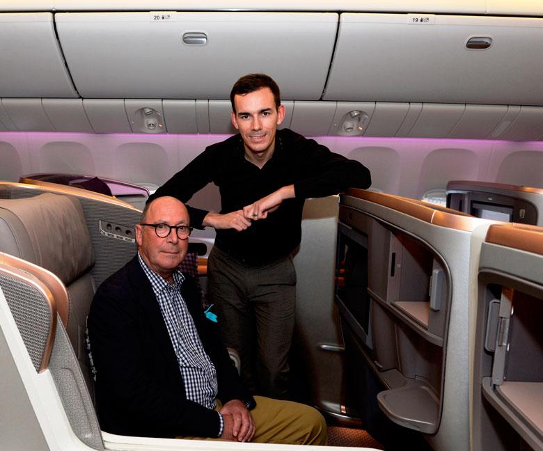 Designers: James-Park (left) and John Tighe
