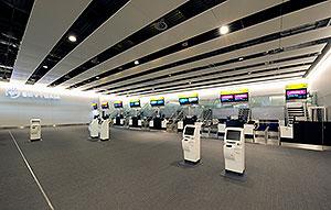 Skyteam Priority check-in, Heathrow