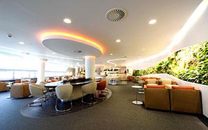 SkyTeam lounge, Heathrow