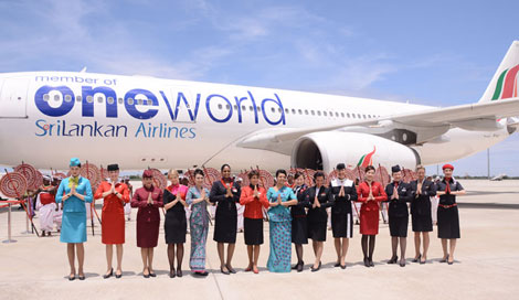 Sri Lankan joins Oneworld