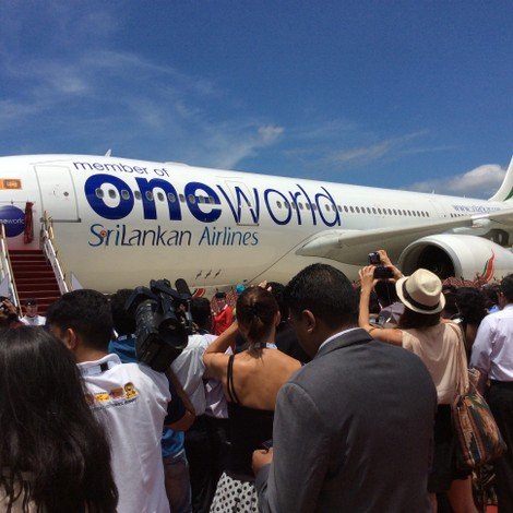SriLankan Airlines joining oneworld