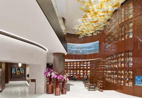 St Regis Istanbul lobby