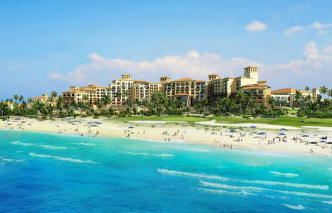 Westin Hotel Spa Abu Dhabi Will Overlook The Golf Resort Featuring 400 Person Conference And Boardrooms A Business Centre