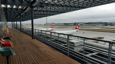 Swiss Zurich Dock E lounge