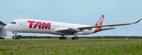 TAM Airlines A350 XWB