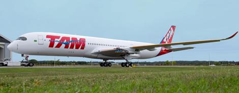 TAM Airlines A350 XWB